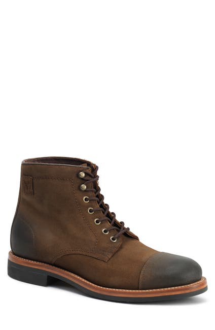 Image of Trask Ike Cap Toe Lace Up Boot