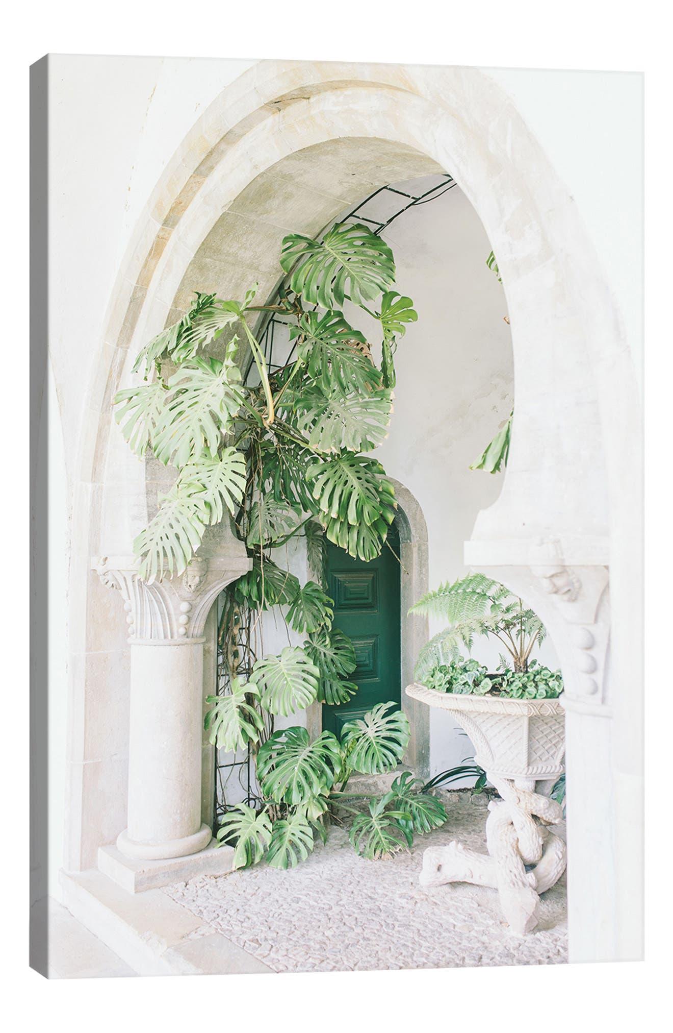Icanvas Monstera Leaf Plant In Multi