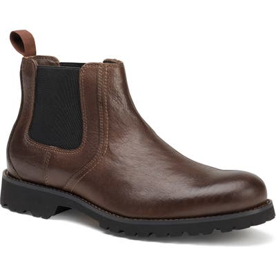 Trask Gunter Waterproof Chelsea Boot- Brown