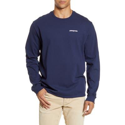 Patagonia P-6 Logo Responsibili-Tee T-Shirt, Blue