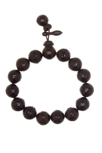 Image of Marz The Round Character Beaded Wood Stretch Bracelet