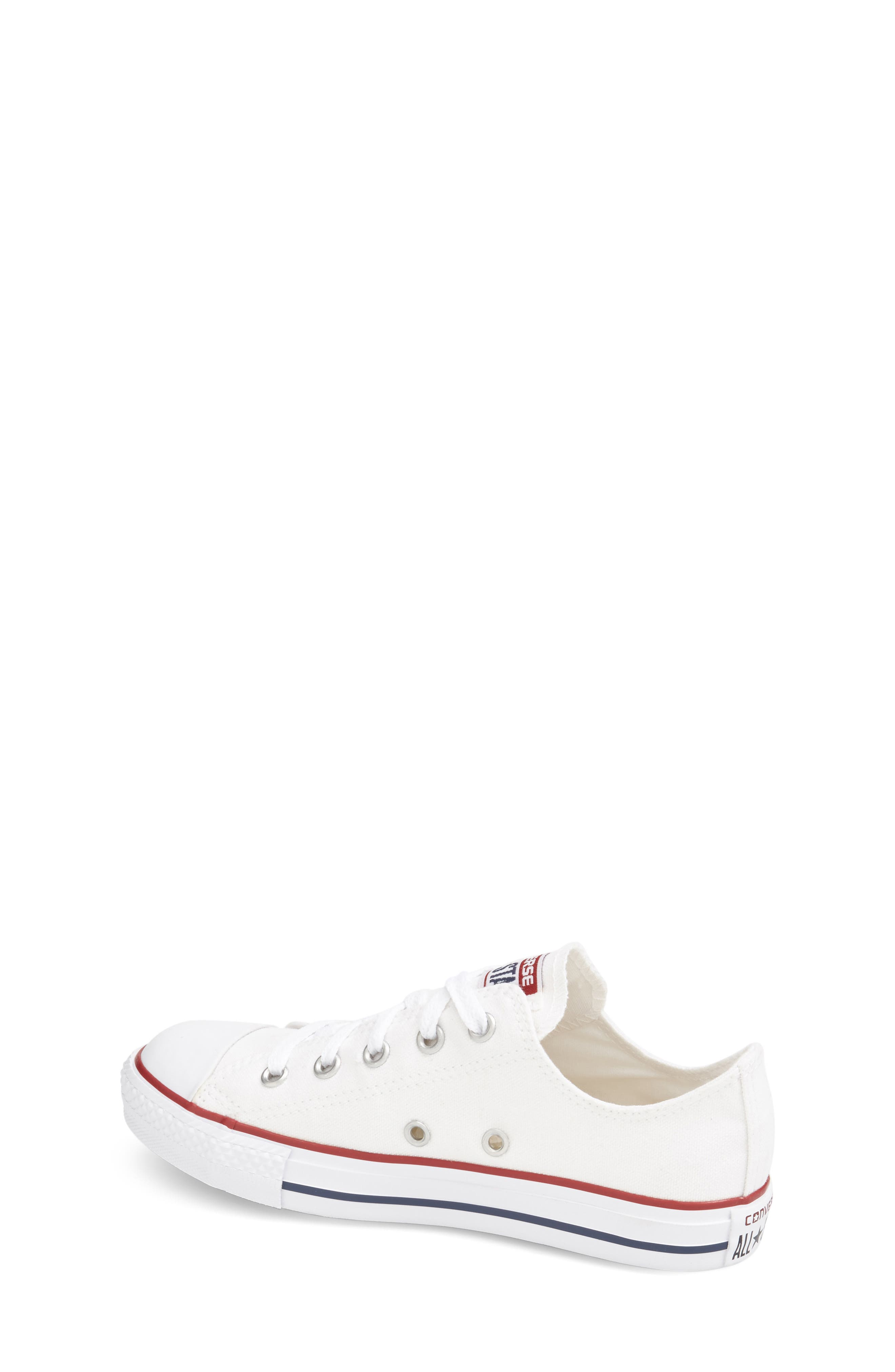 ,                             Chuck Taylor<sup>®</sup> Sneaker,                             Alternate thumbnail 2, color,                             WHITE