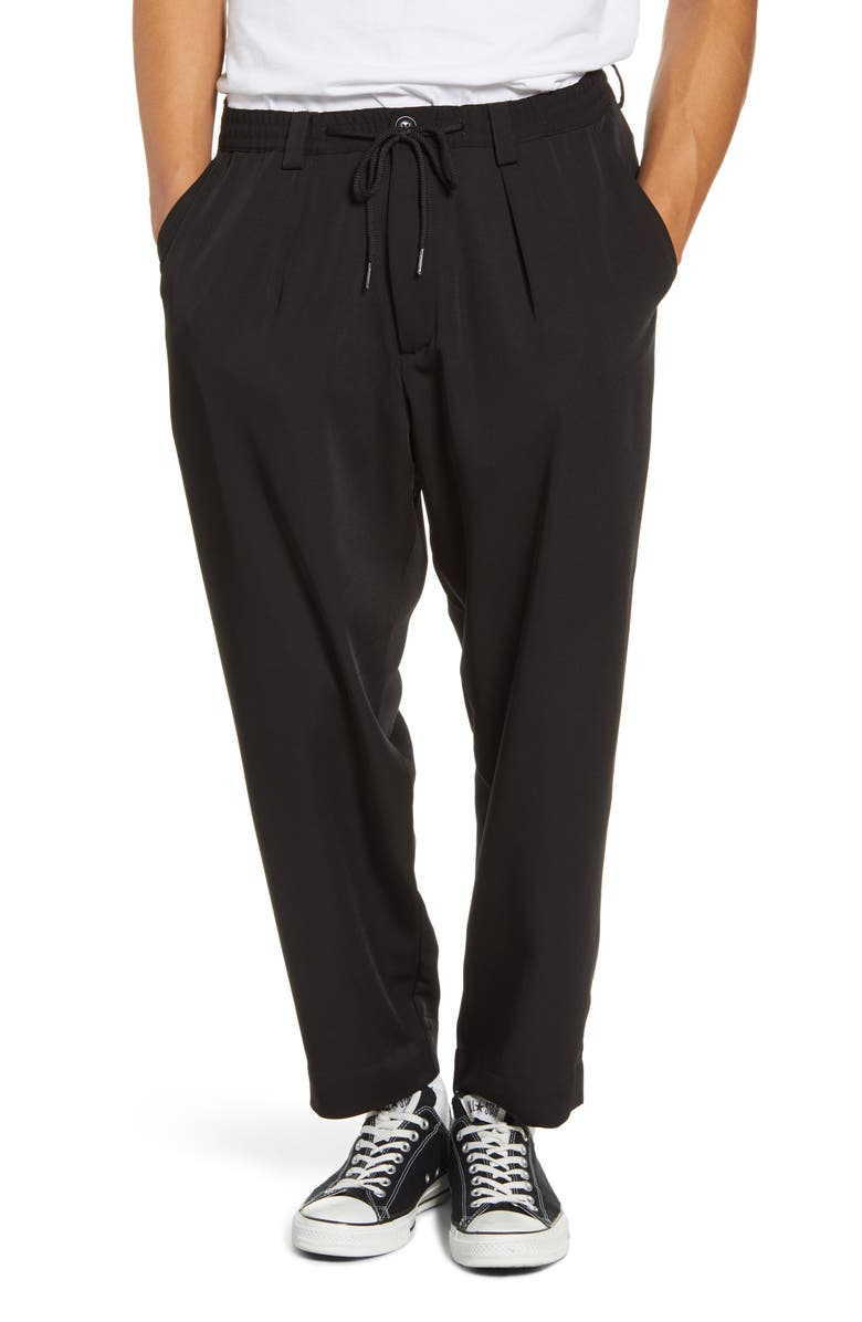 DRIFTER Henderson Crop Drawstring Pants, Main, color, 001