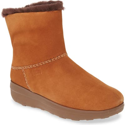 Fitflop Mukluk Shorty Iii Bootie, Beige
