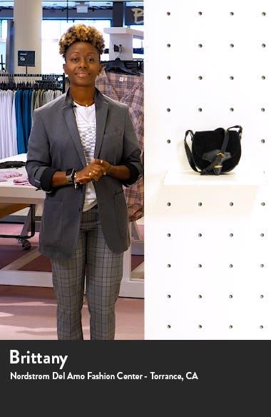 Botsy Calfskin Suede Shoulder Bag, sales video thumbnail
