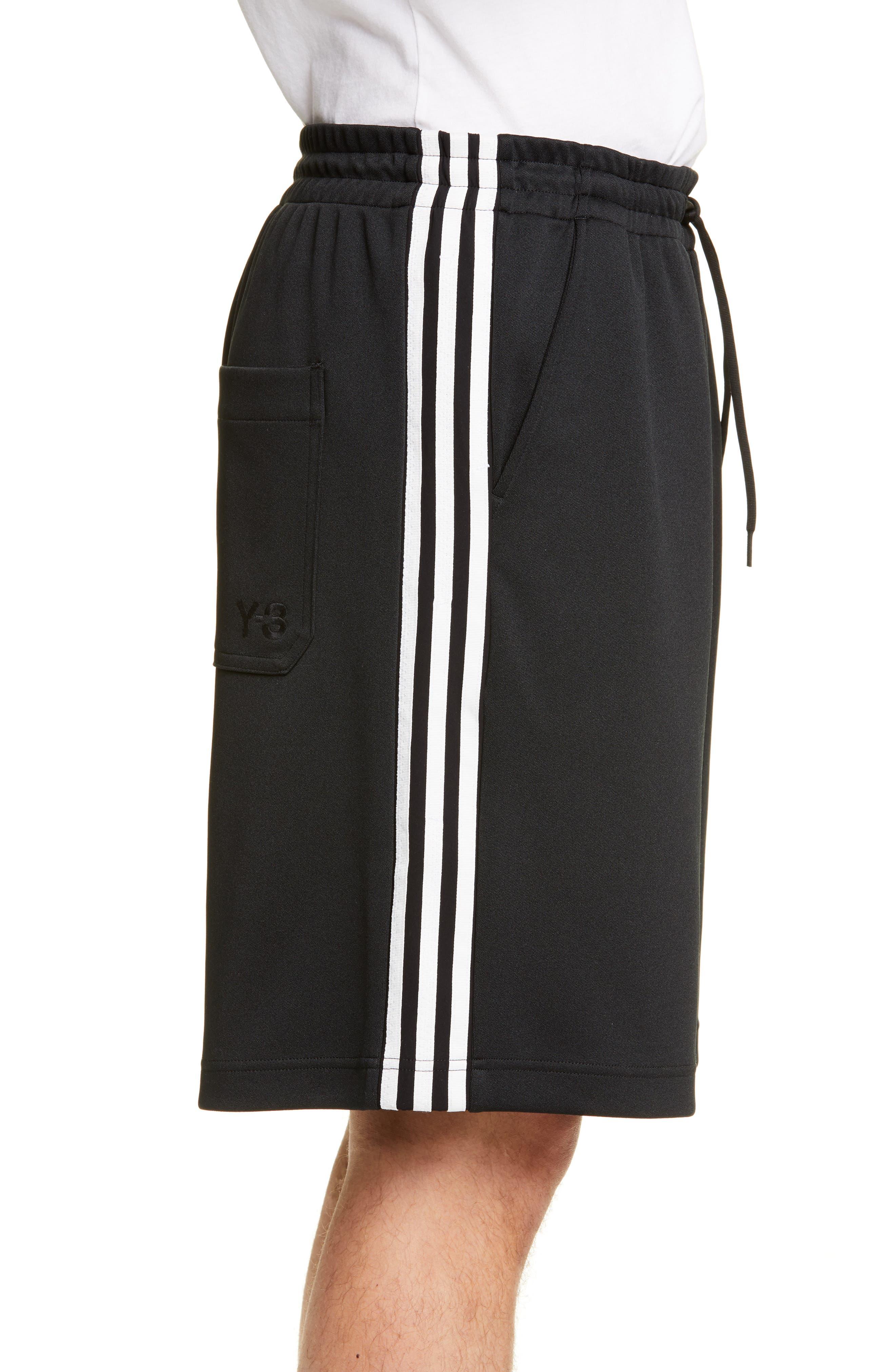 ,                             Stripe Shorts,                             Alternate thumbnail 3, color,                             BLACK