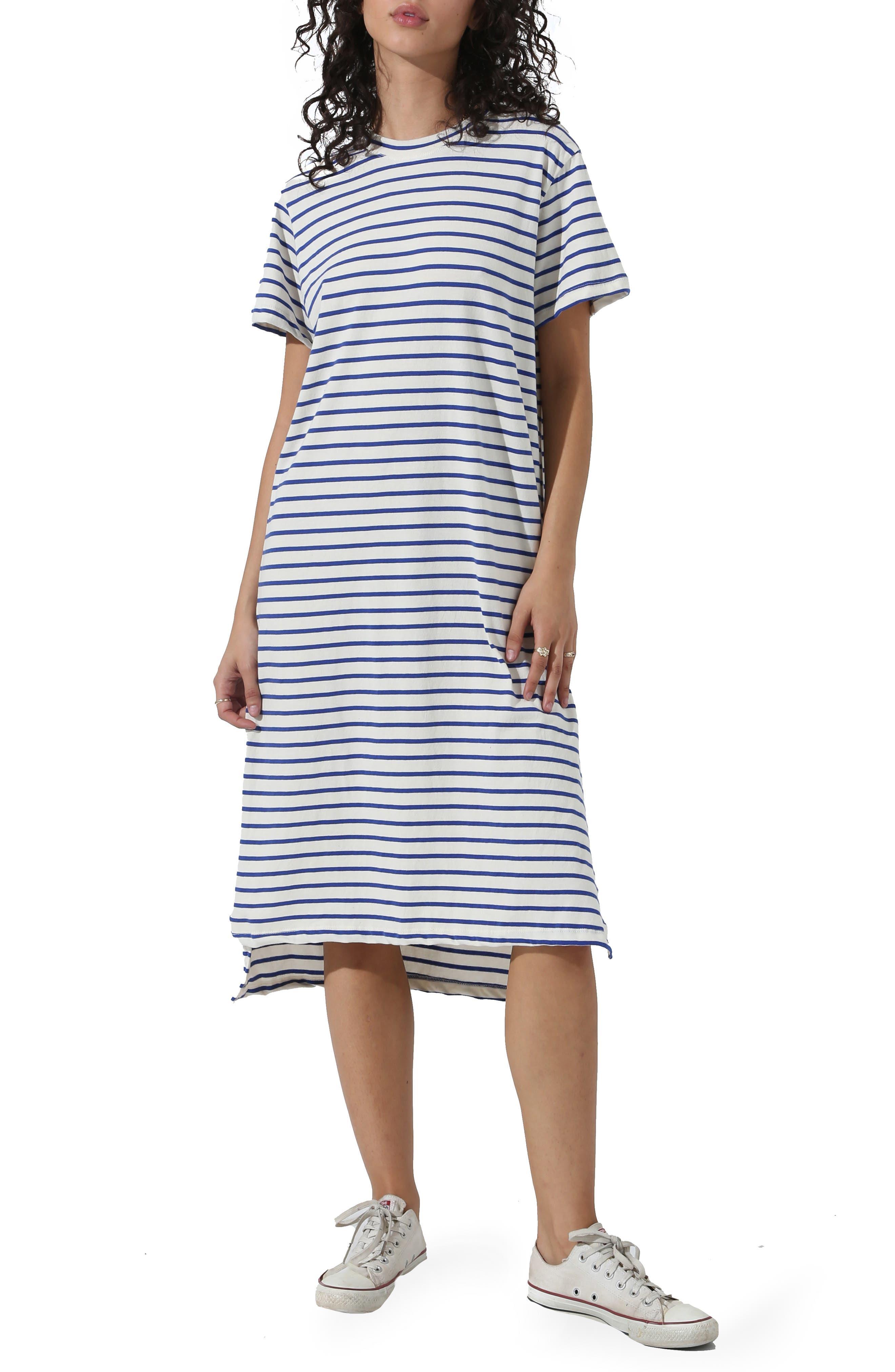 Pali Stripe T-Shirt Dress