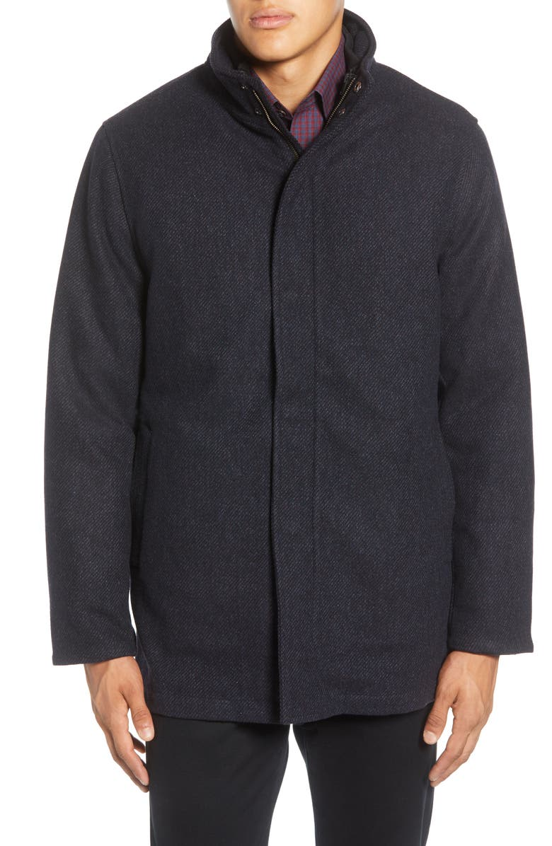 ZACHARY PRELL Stanley Coat, Main, color, NAVY