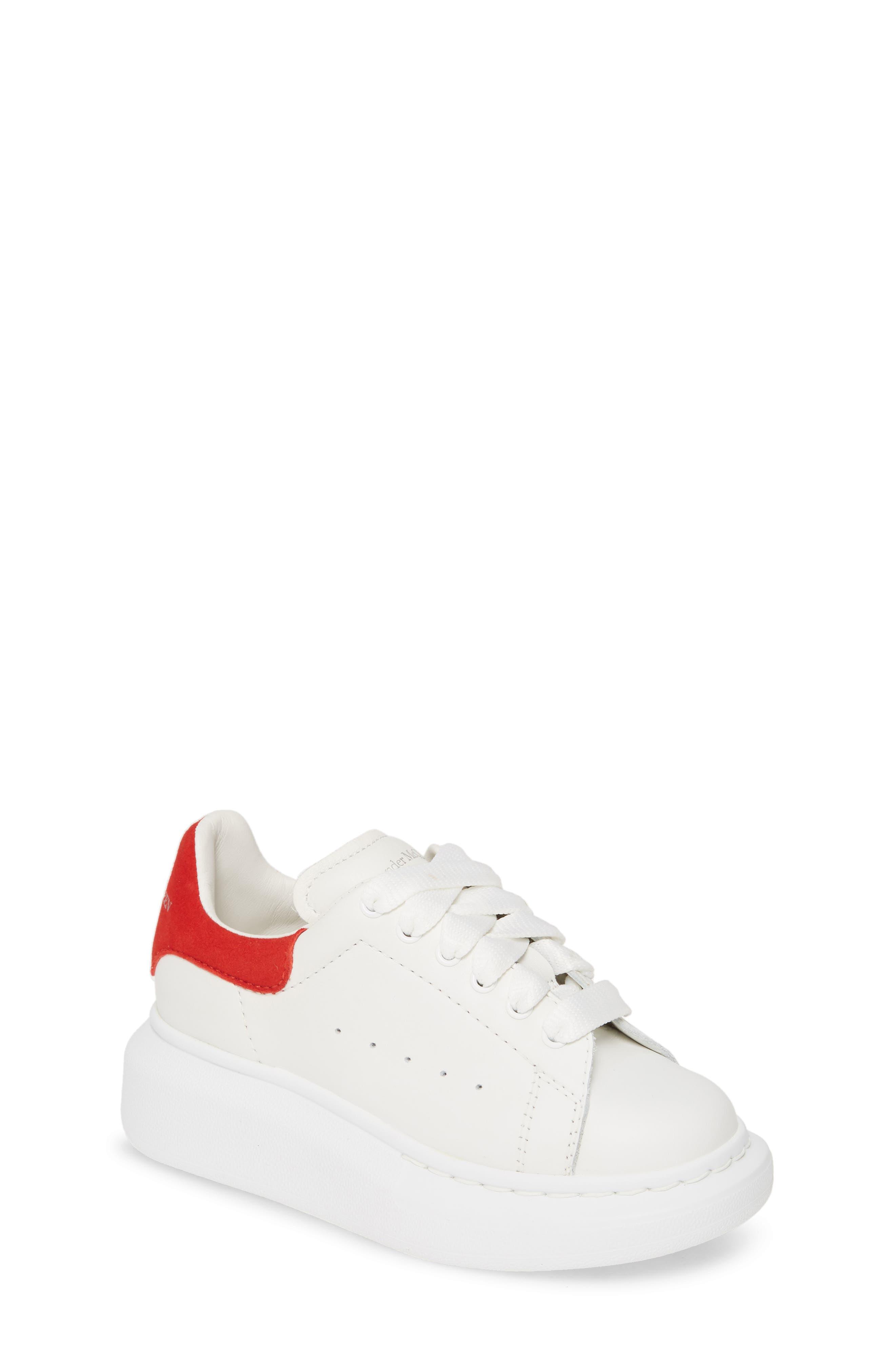 Toddler Alexander Mcqueen Oversize Sneaker Size 115US  29EU  White