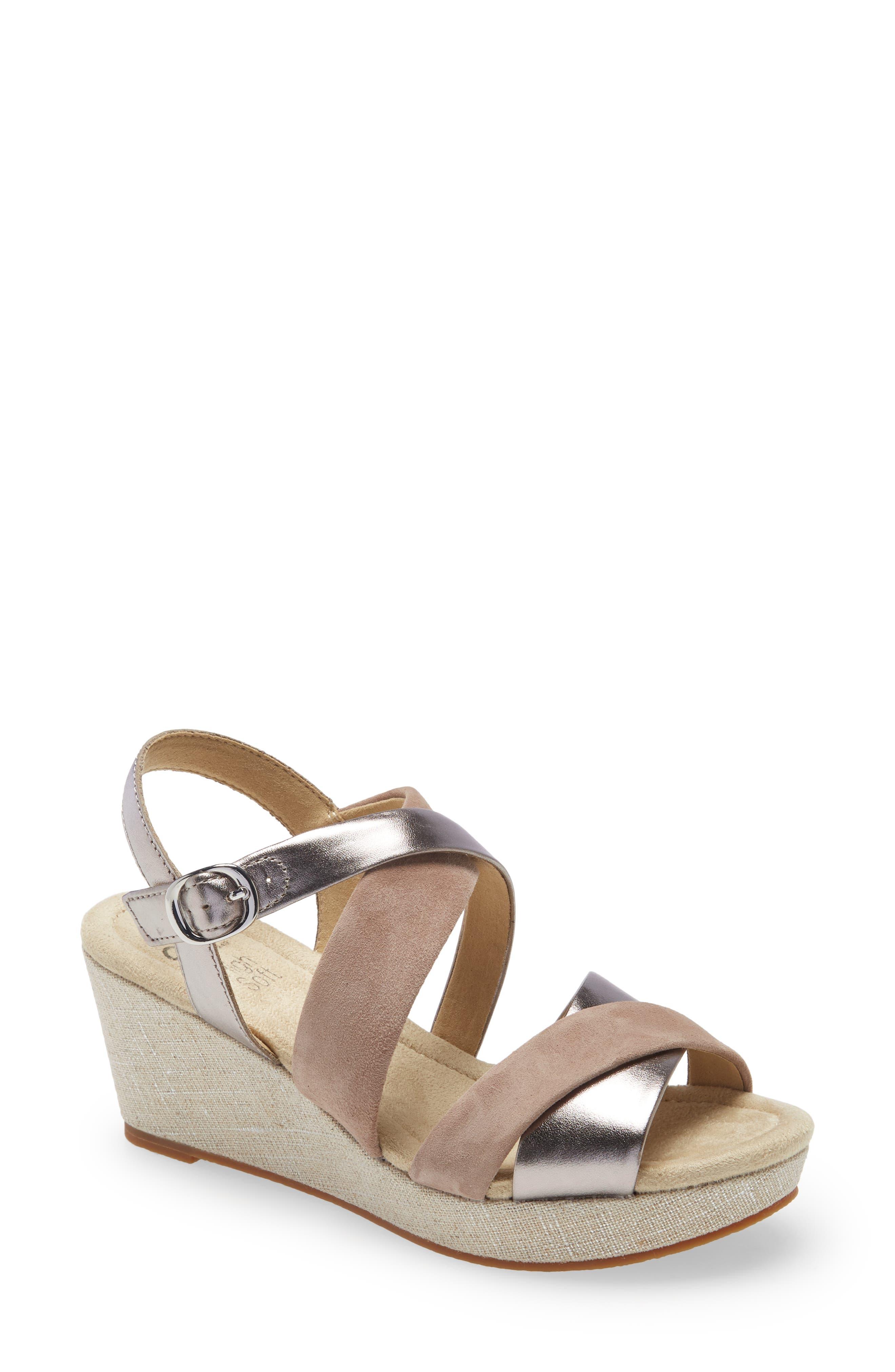 Robin Strappy Wedge Sandal