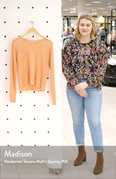 Reenie Linen Sweater, sales video thumbnail