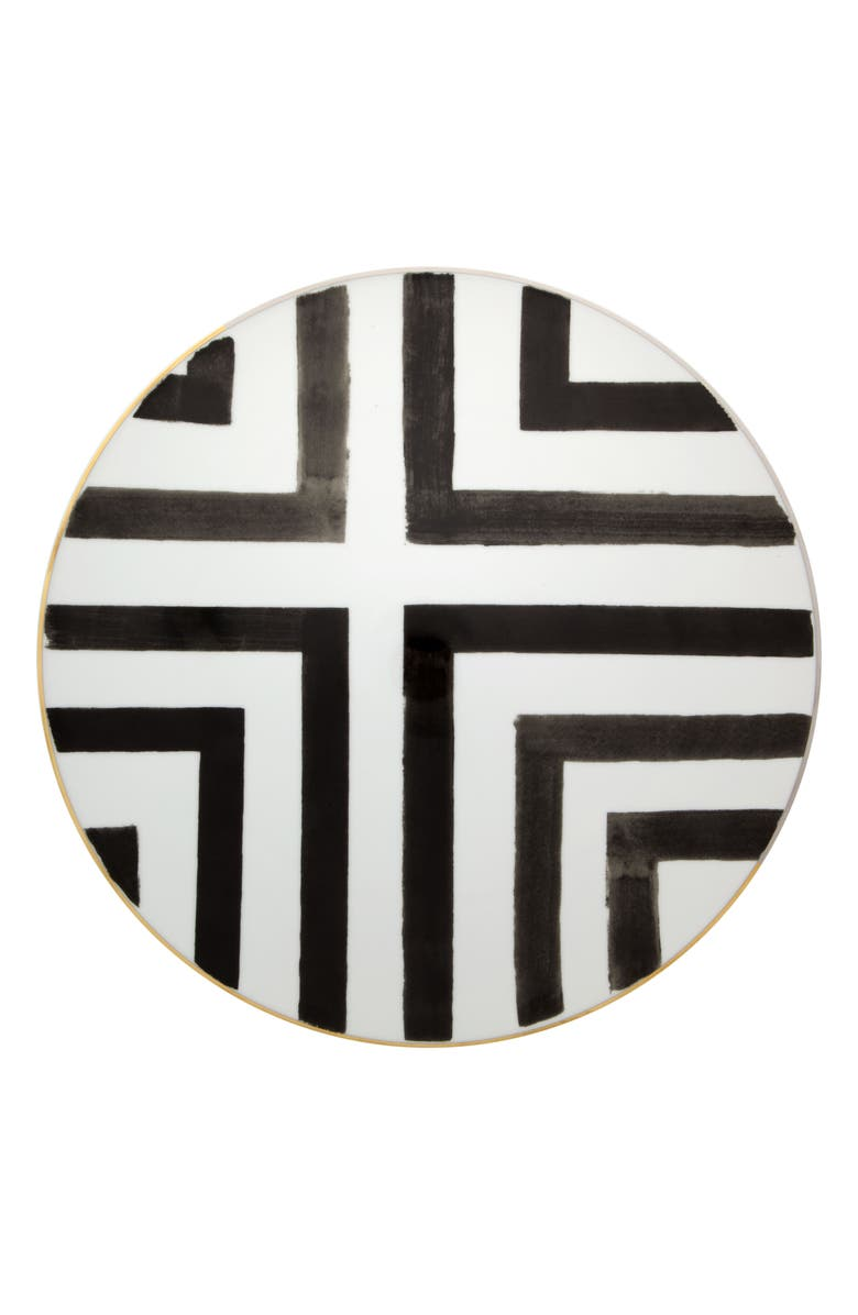 CHRISTIAN LACROIX Sol y Sombra Charger Plate, Main, color, WHITE