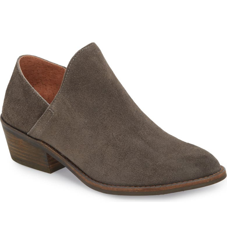 LUCKY BRAND Fausst Bootie, Main, color, PERISCOPE LEATHER
