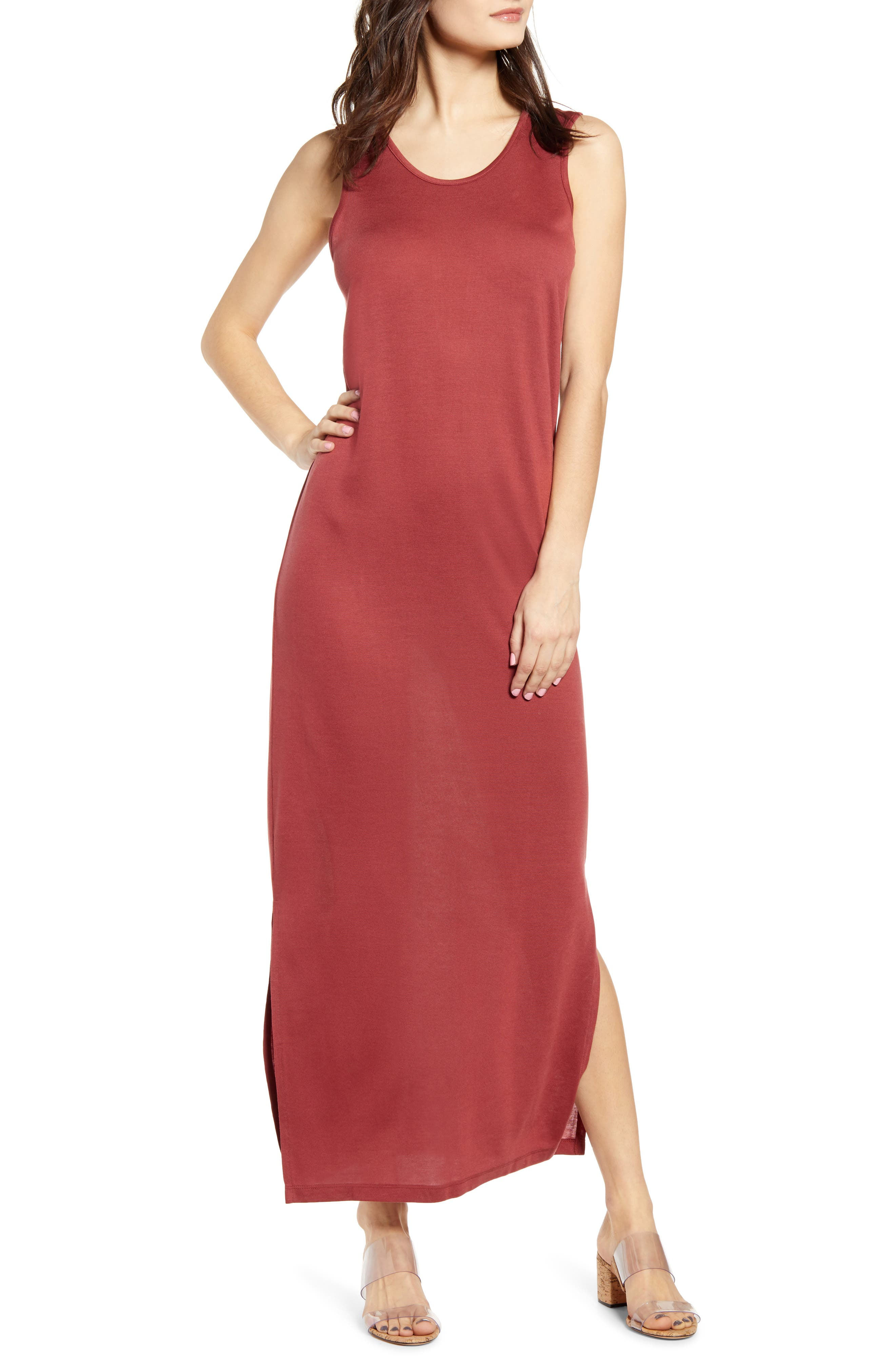 Vero Moda Dina Maxi Dress, Brown