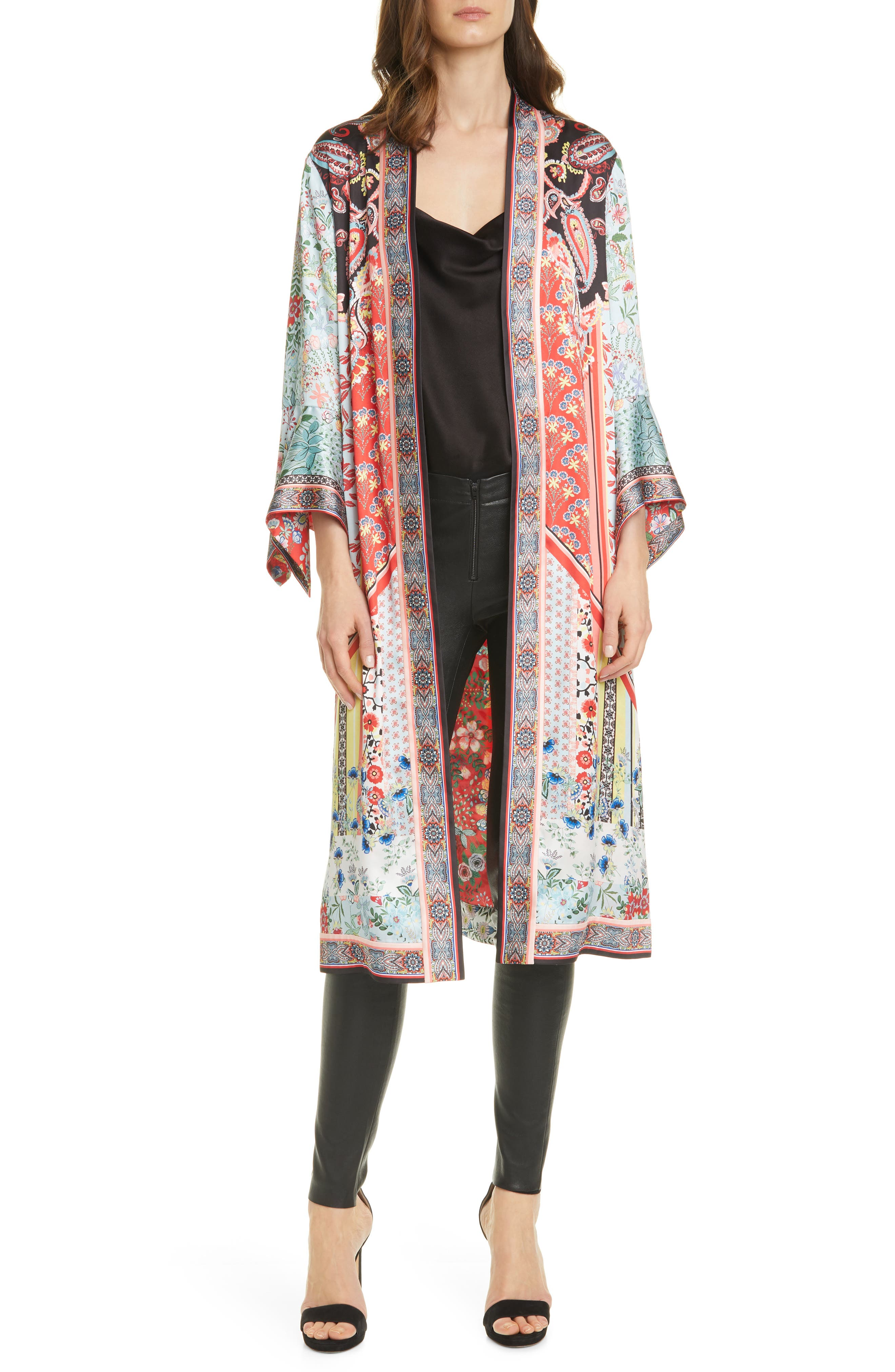 Vintage Coats & Jackets | Retro Coats and Jackets Womens Alice  Olivia Lynn Reversible Duster $371.25 AT vintagedancer.com