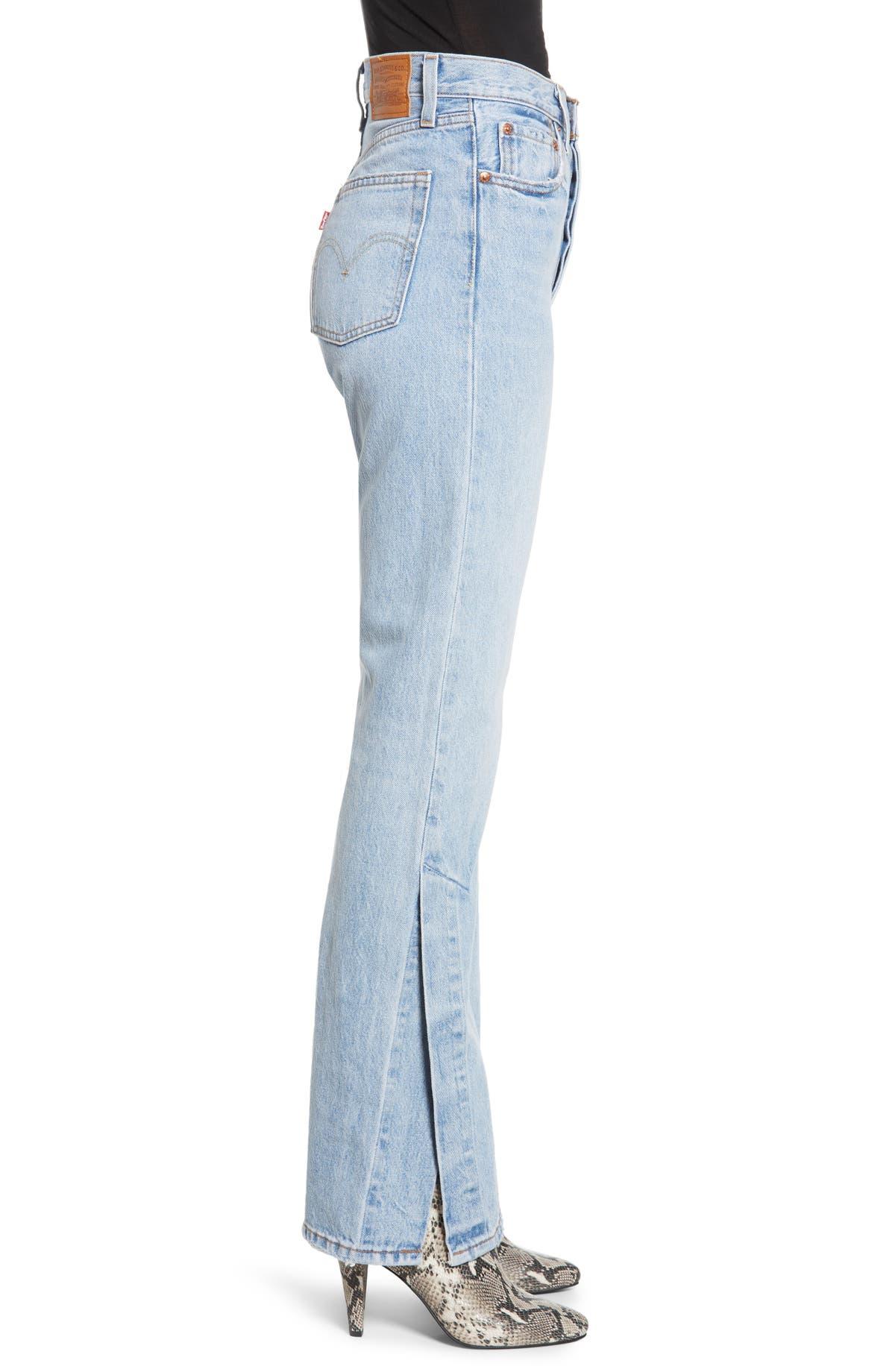 7ee351256bc67f Levi's® Ribcage Super High Waist Split Flare Jeans (Dazed & Confused) |  Nordstrom