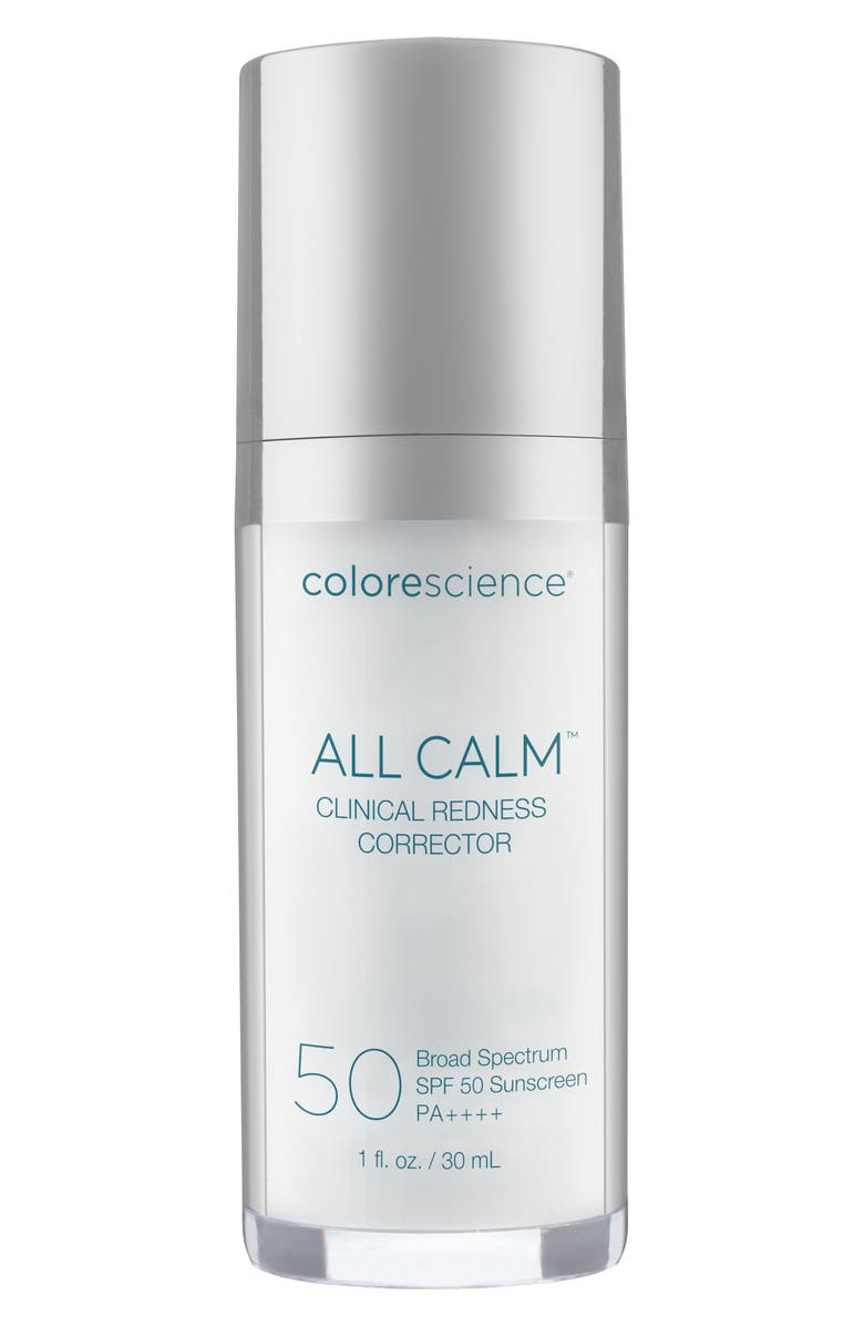 COLORESCIENCE<SUP>®</SUP> All Calm<sup>™</sup> Clinical Redness Corrector SPF 50 PA++++, Main, color, 250