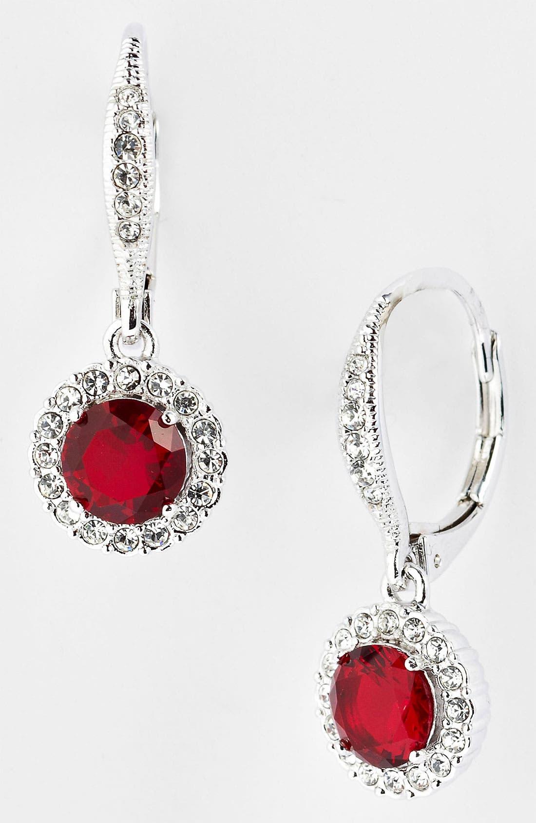 ,                             Cubic Zirconia Drop Earrings,                             Main thumbnail 22, color,                             600