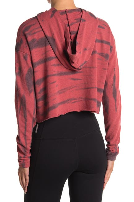 Image of Z By Zella Mosey Tie-Dye Knit Hoodie