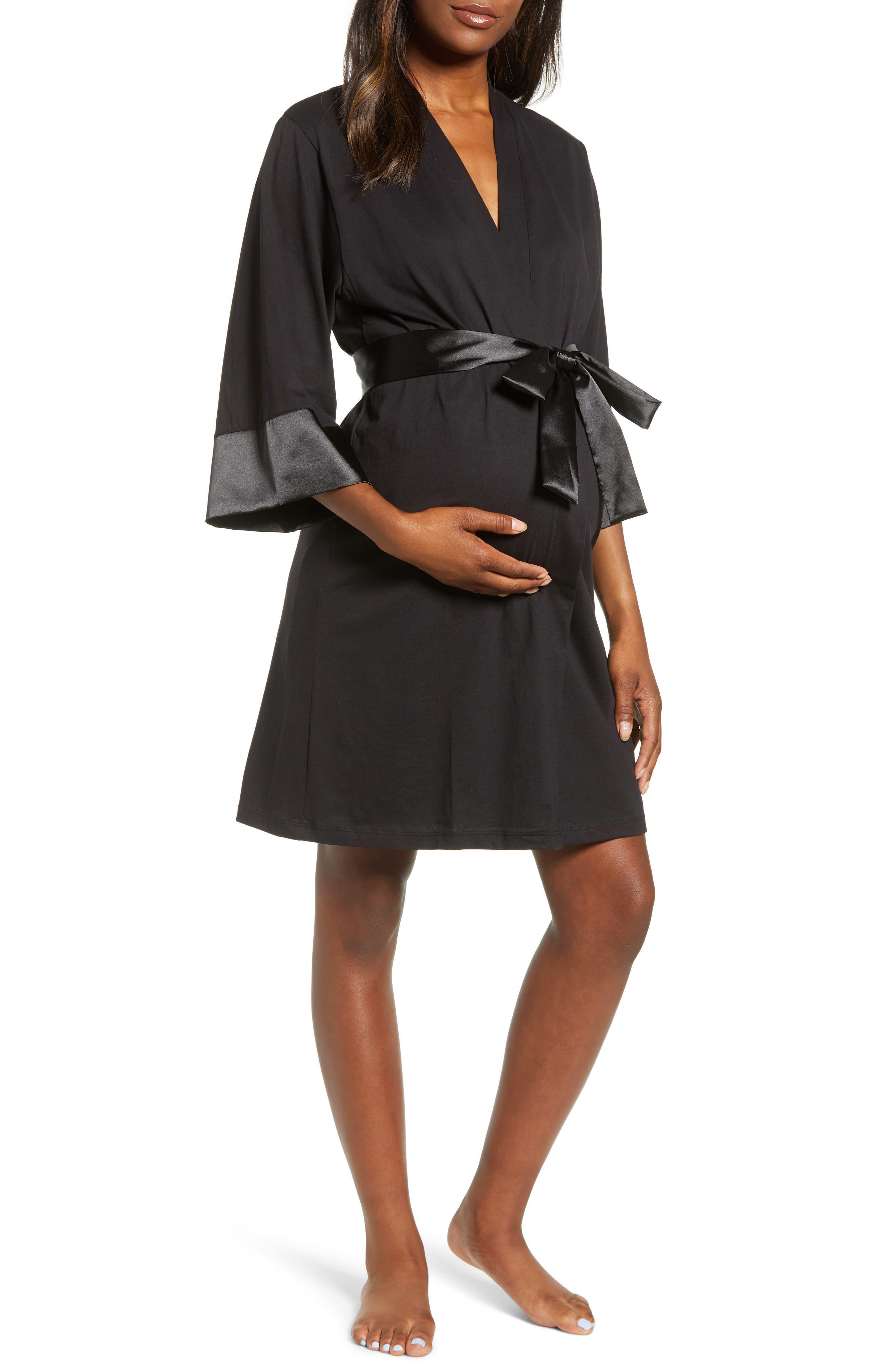 Maternity/nursing Robe