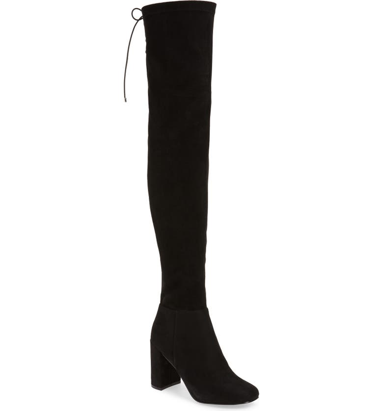 CHINESE LAUNDRY King Over the Knee Boot, Main, color, BLACK