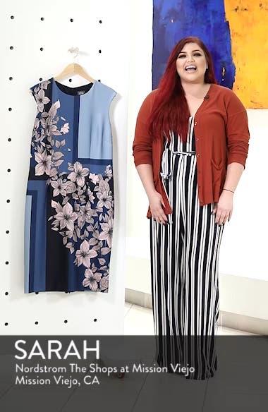 Print Scuba Body-Con Dress, sales video thumbnail
