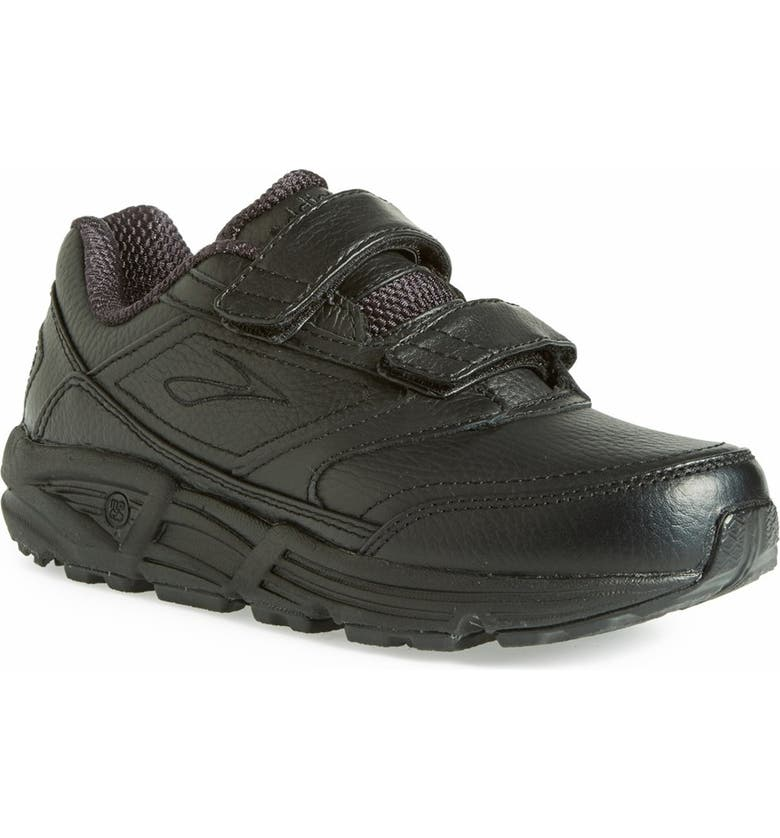 BROOKS 'Addiction' Walking Shoe, Main, color, BLACK