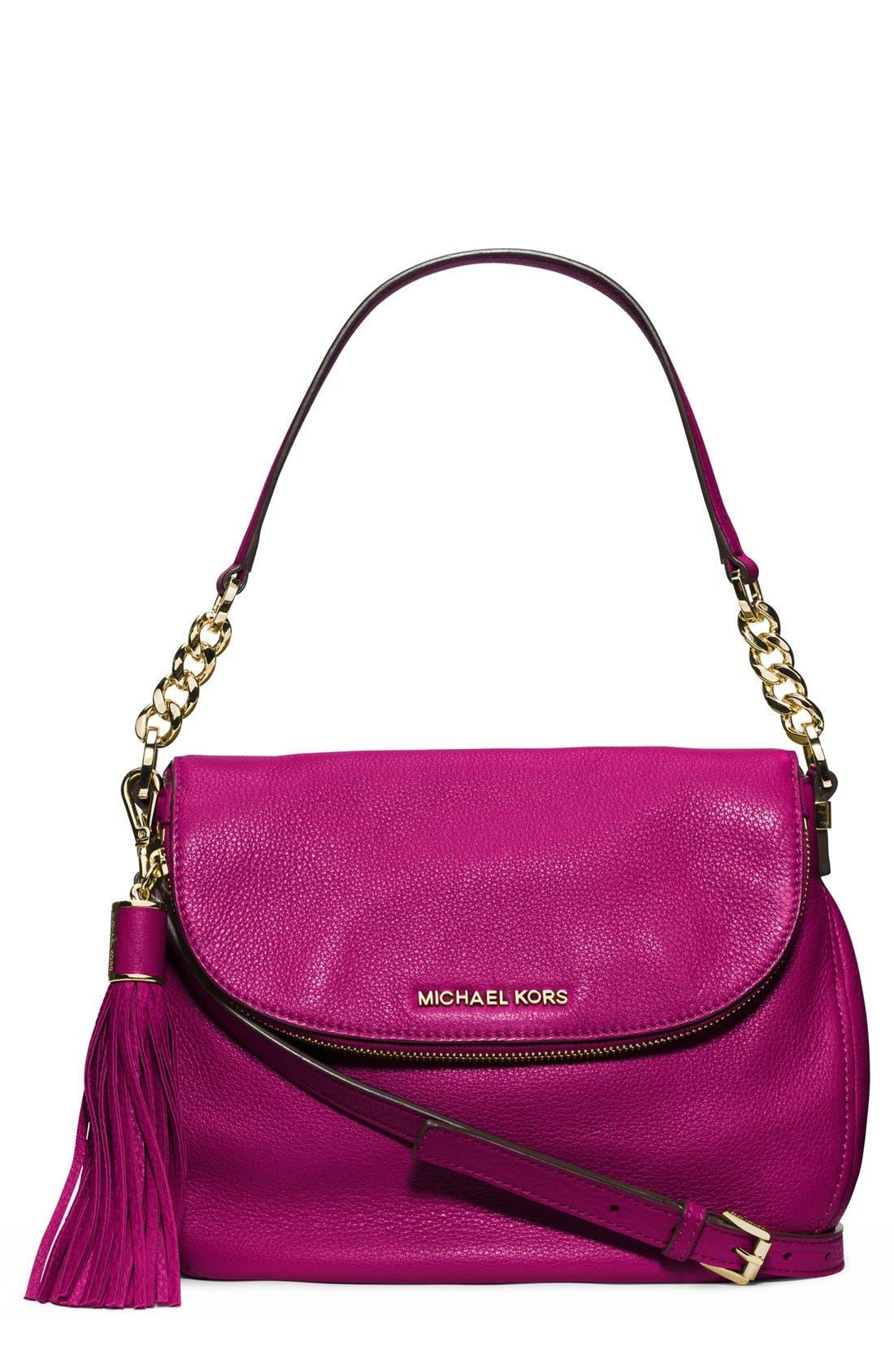,                             'Bedford Tassel - Medium' Convertible Leather Shoulder Bag,                             Main thumbnail 50, color,                             670