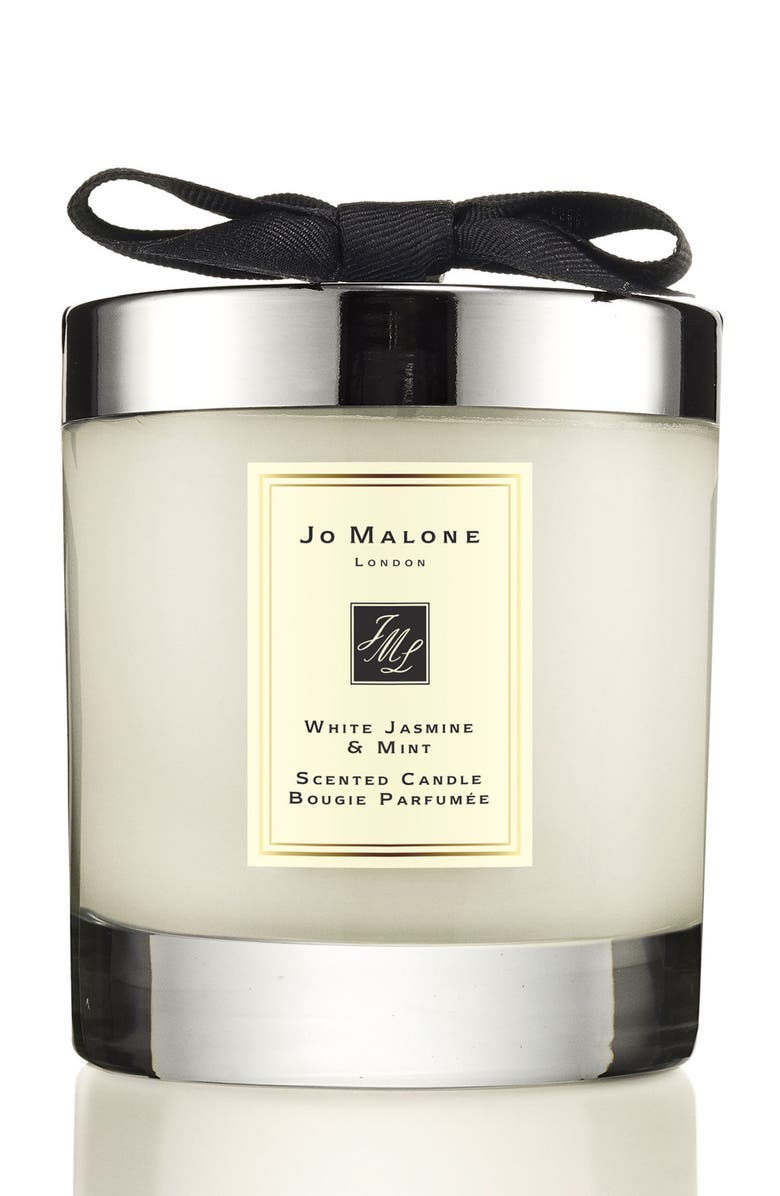 JO MALONE LONDON<SUP>™</SUP> Jo Malone<sup>™</sup> 'White Jasmine & Mint' Scented Home Candle, Main, color, 000