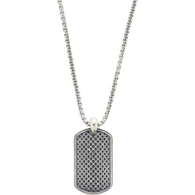 Degs & Sal Dog Tag Pendant Necklace