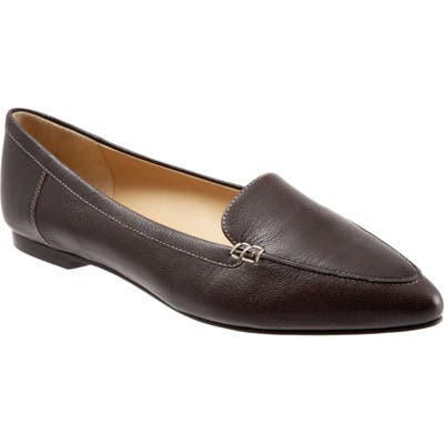 Trotters Ember Flat, Brown