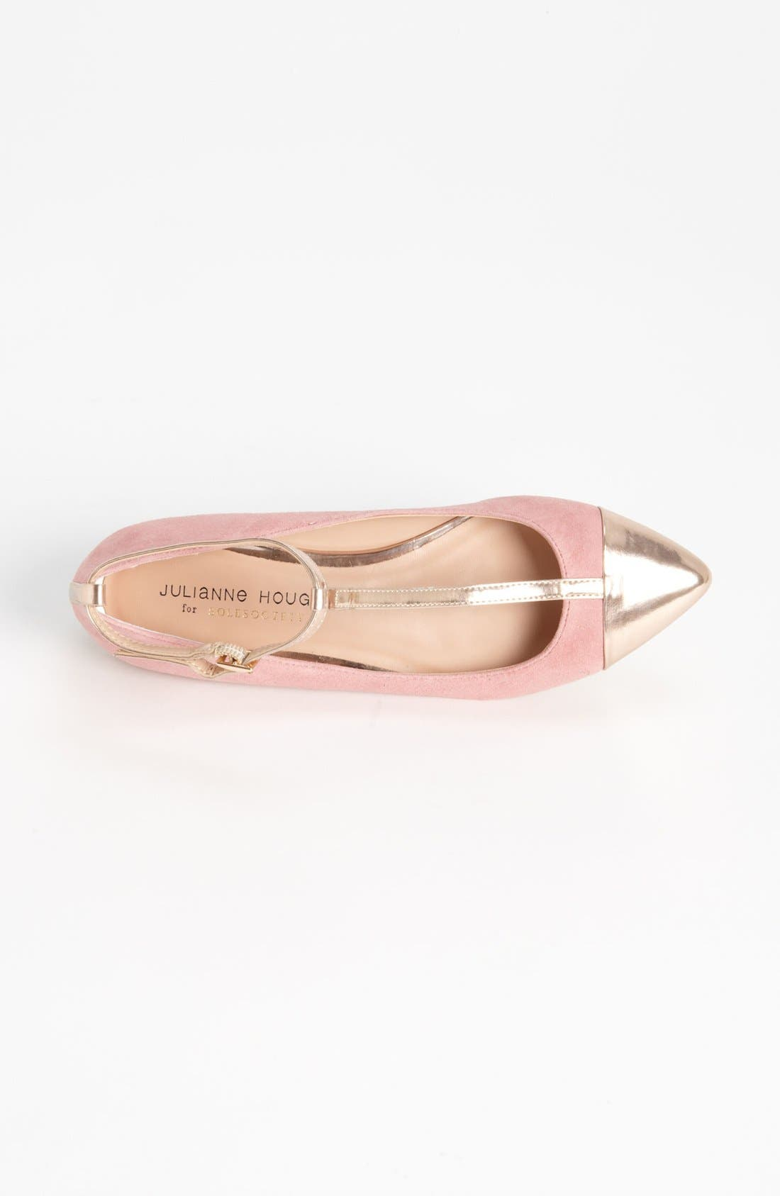 ,                             Julianne Hough for Sole Society 'Addy' Flat,                             Main thumbnail 42, color,                             681