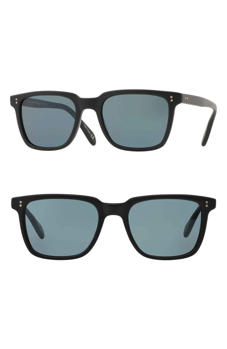 OLIVER PEOPLES NDG 50mm Sunglasses, Main, color, 001