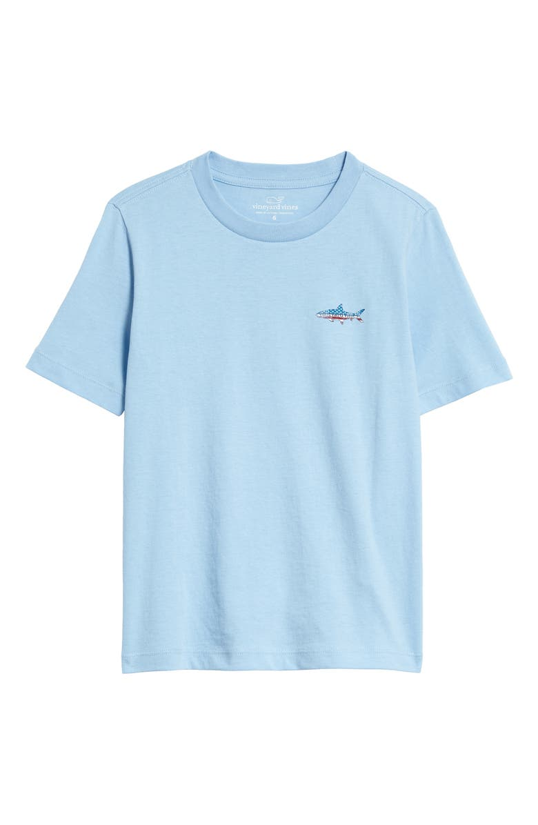 VINEYARD VINES American Bonefish Graphic T-Shirt, Main, color, JAKE BLUE