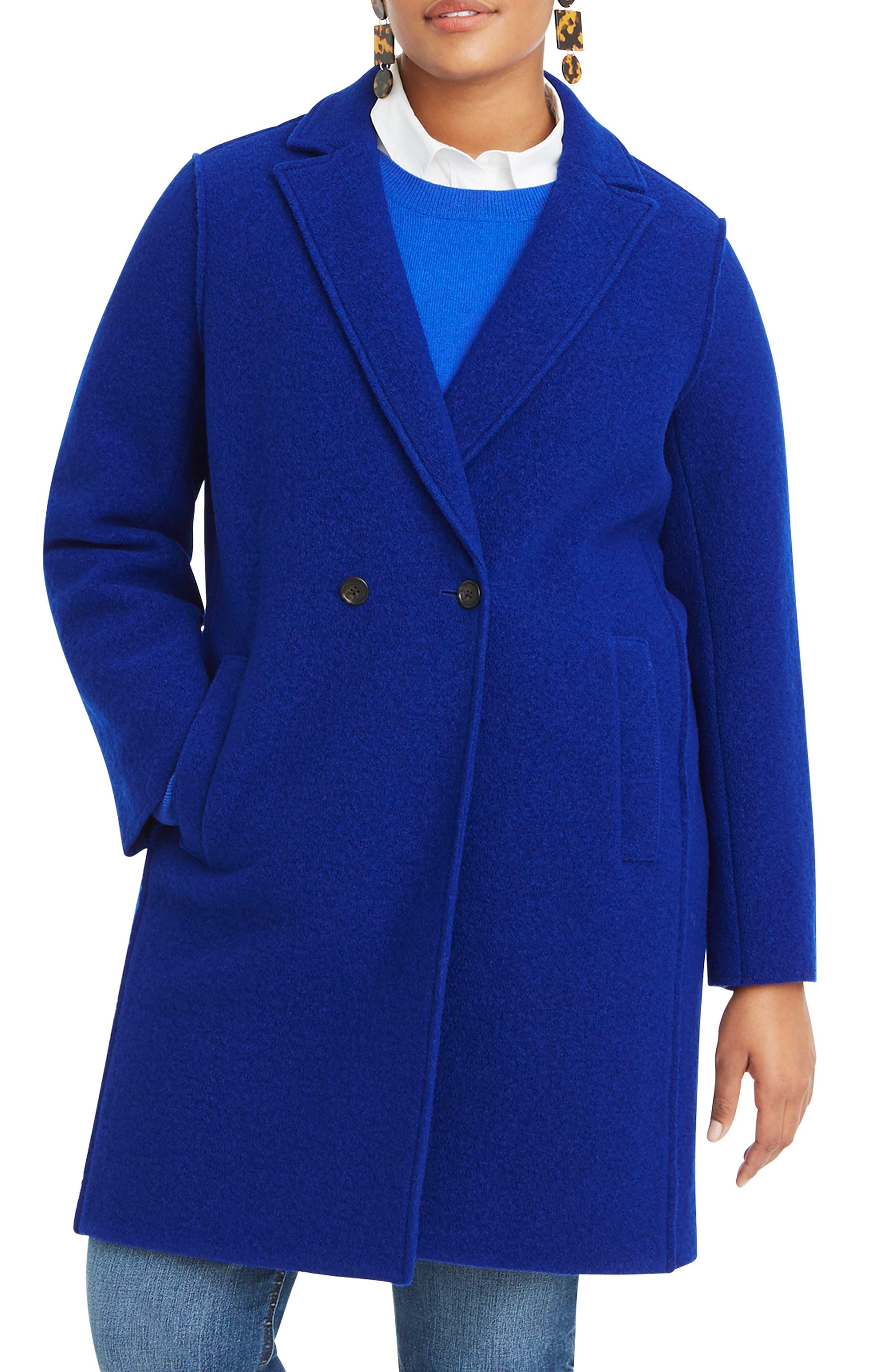 ,                             Daphne Boiled Wool Topcoat,                             Main thumbnail 40, color,                             400