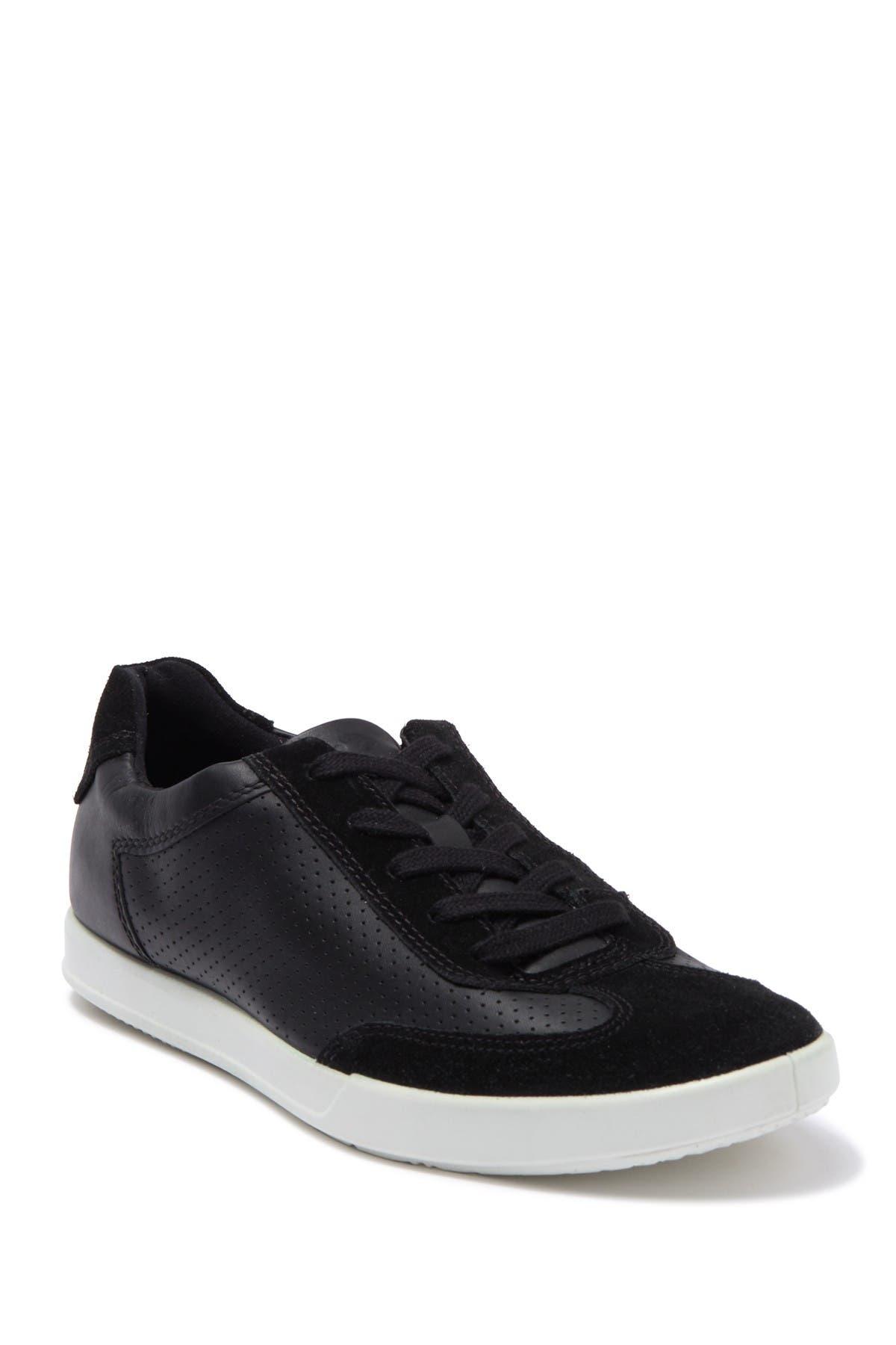 Image of ECCO Cathum Retro Perforated Sneaker