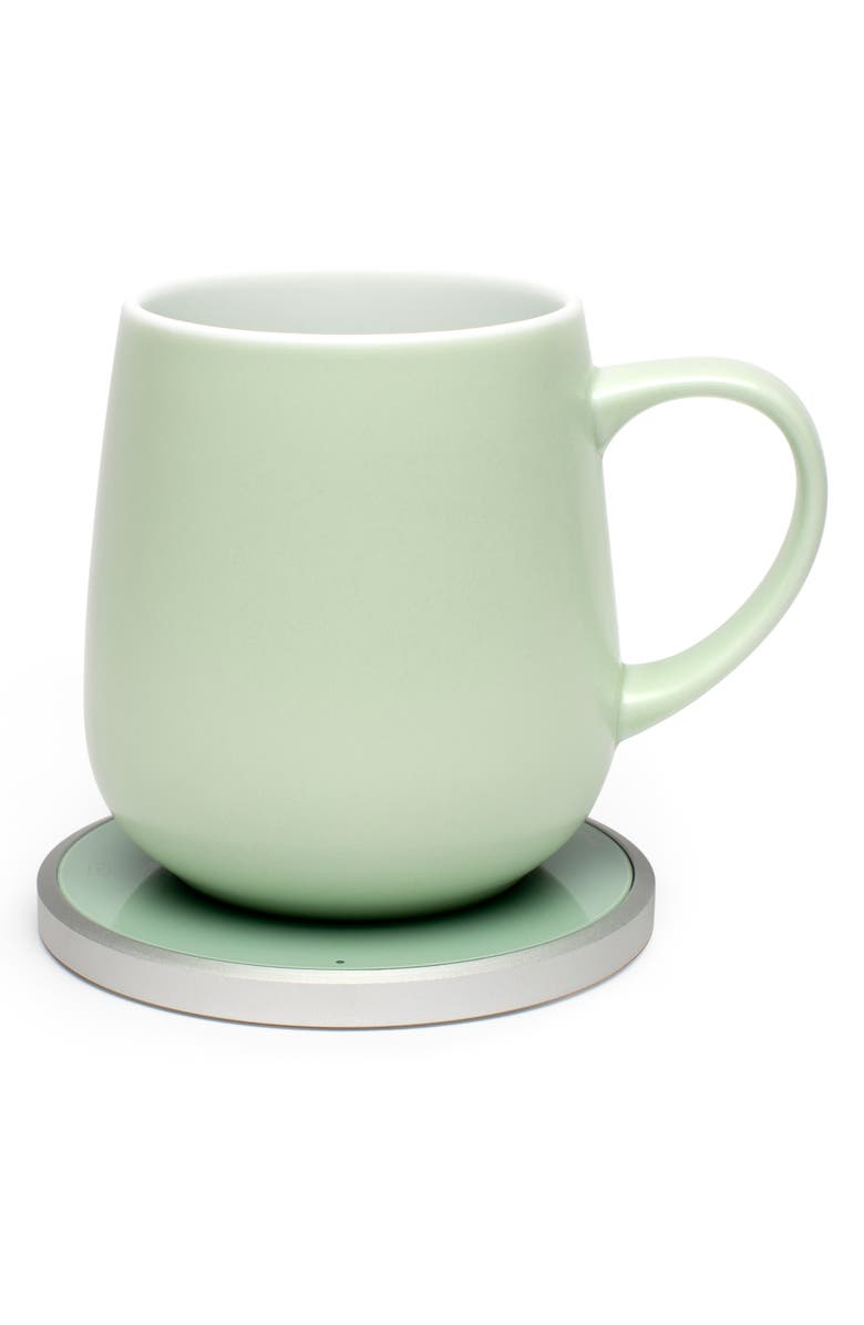 OHOM Kopi Mug & Warmer Set, Main, color, FRESH MINT