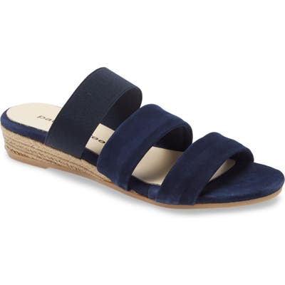 Patricia Green Joanna Wedge Sandal, Blue