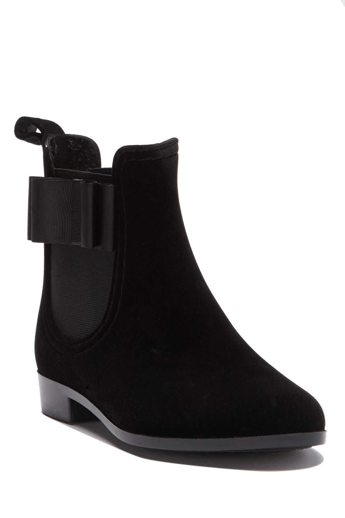 Image of Joie Reagan Velvet Chelsea Boot