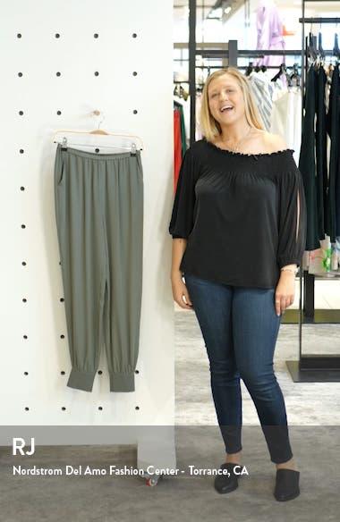 Silk Jogger Pants, sales video thumbnail