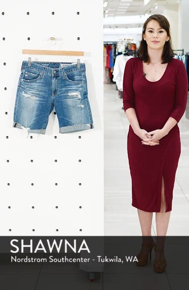 Nikki Cutoff Denim Shorts, sales video thumbnail