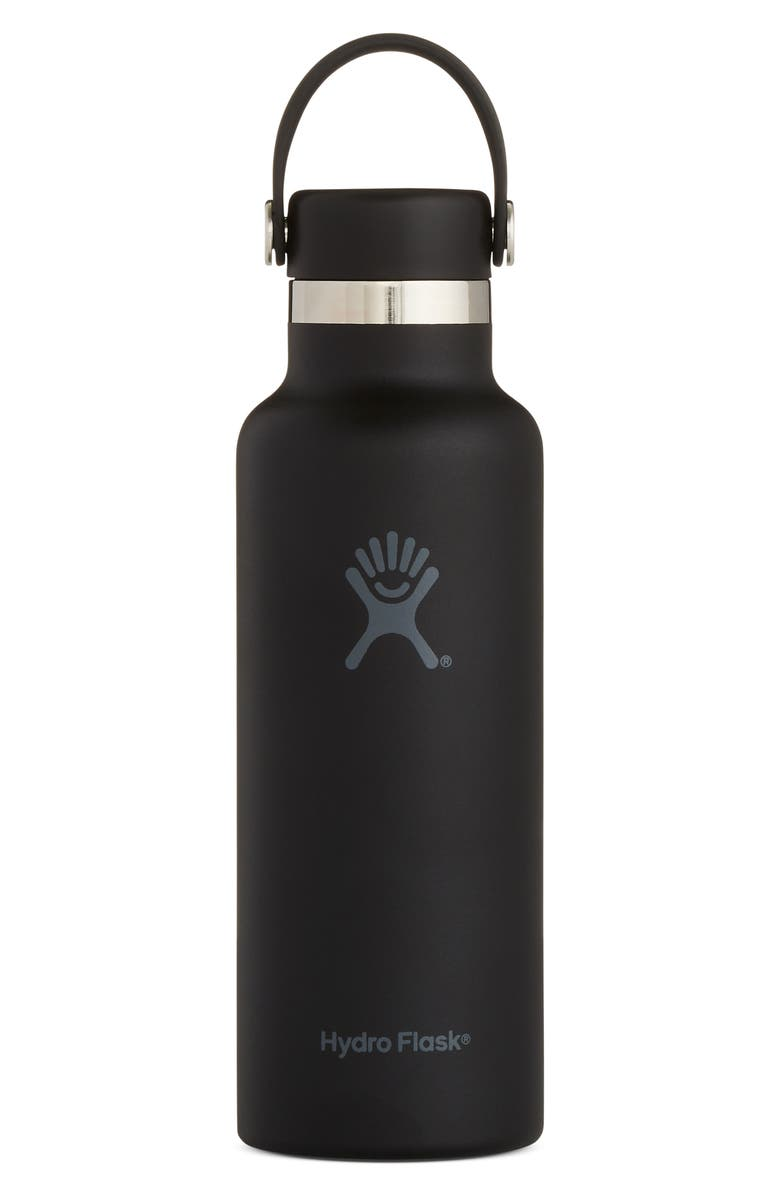 HYDRO FLASK Skyline 18-Ounce Standard Mouth Bottle with Sport Cap, Main, color, 001
