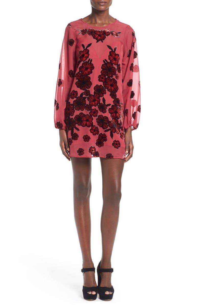 FOR LOVE & LEMONS 'Heather' Minidress, Main, color, 900