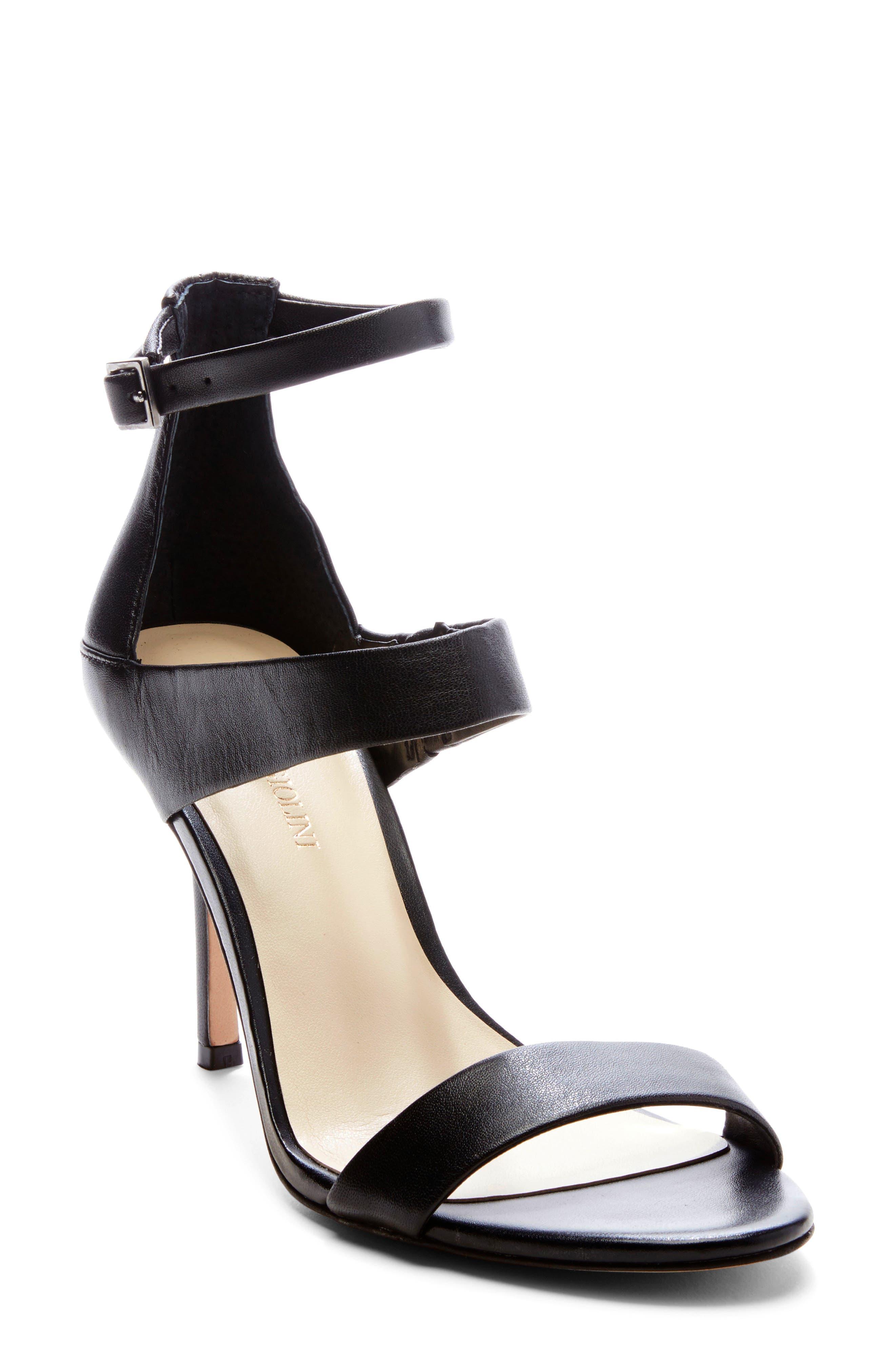 Enzo Angiolini Addalyn Strappy Sandal, Black