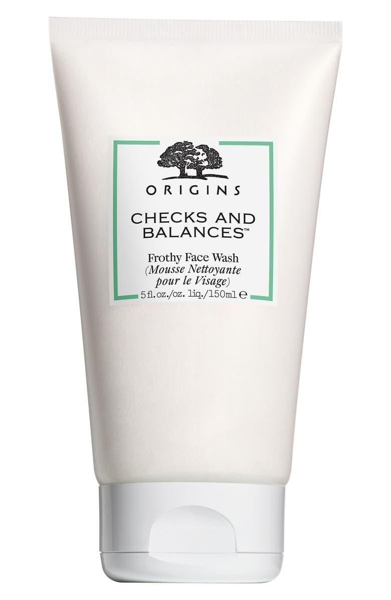ORIGINS Checks and Balances<sup>™</sup> Frothy Face Wash, Main, color, 000
