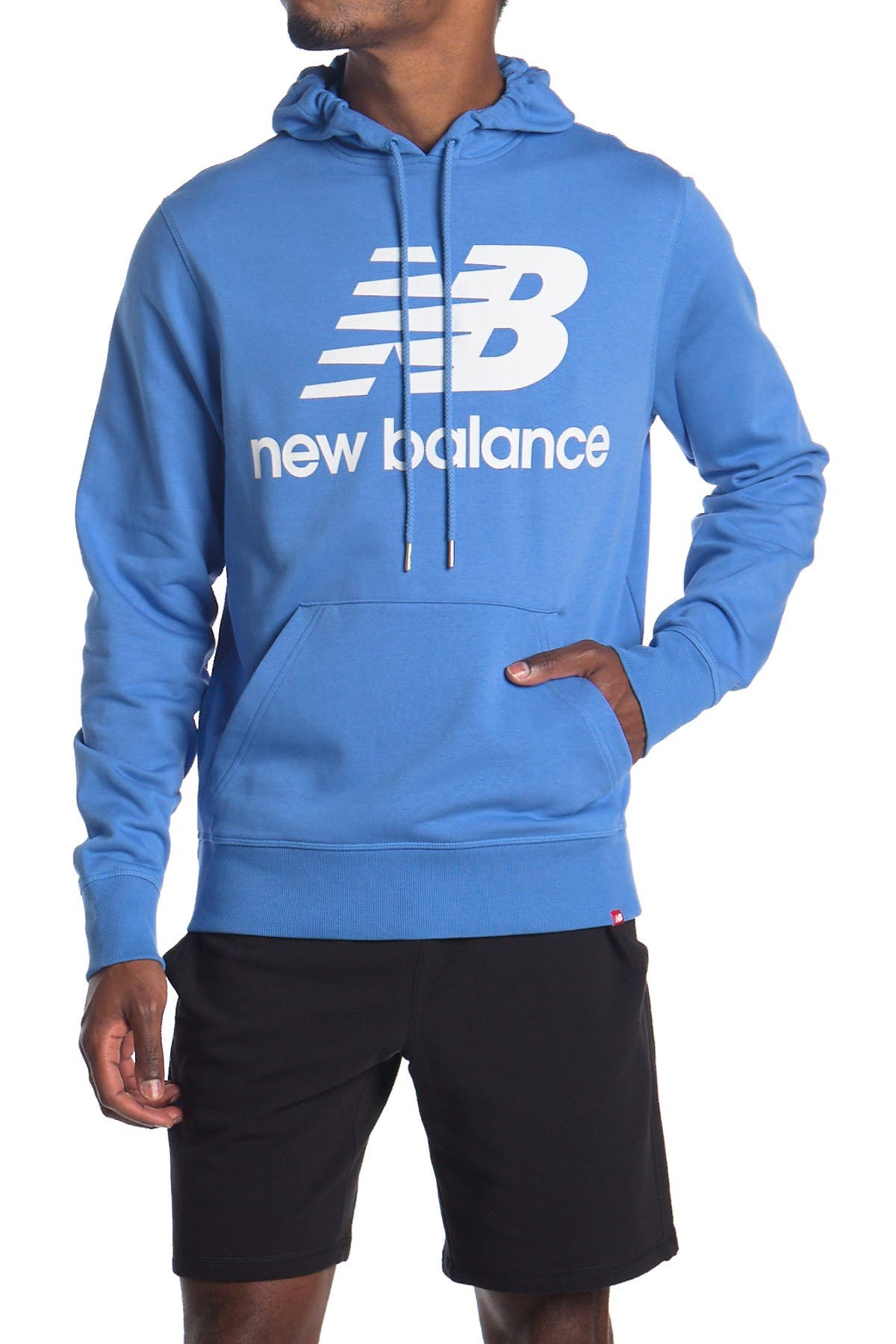 Image of New Balance Essentials Stack Logo Po Hoodie