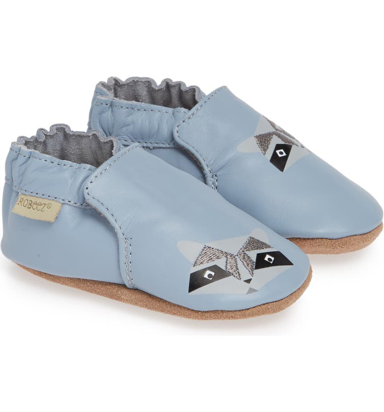 ROBEEZ<SUP>®</SUP> Raccoon Buddies Crib Shoe, Main, color, 420