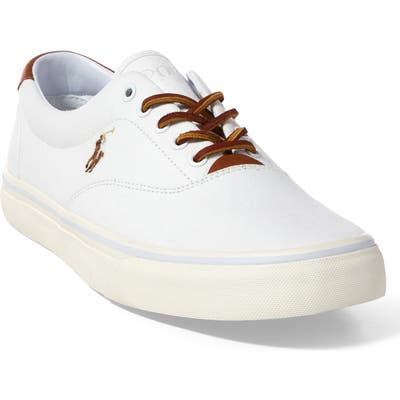 Polo Ralph Lauren Thorton Low Top Sneaker, White