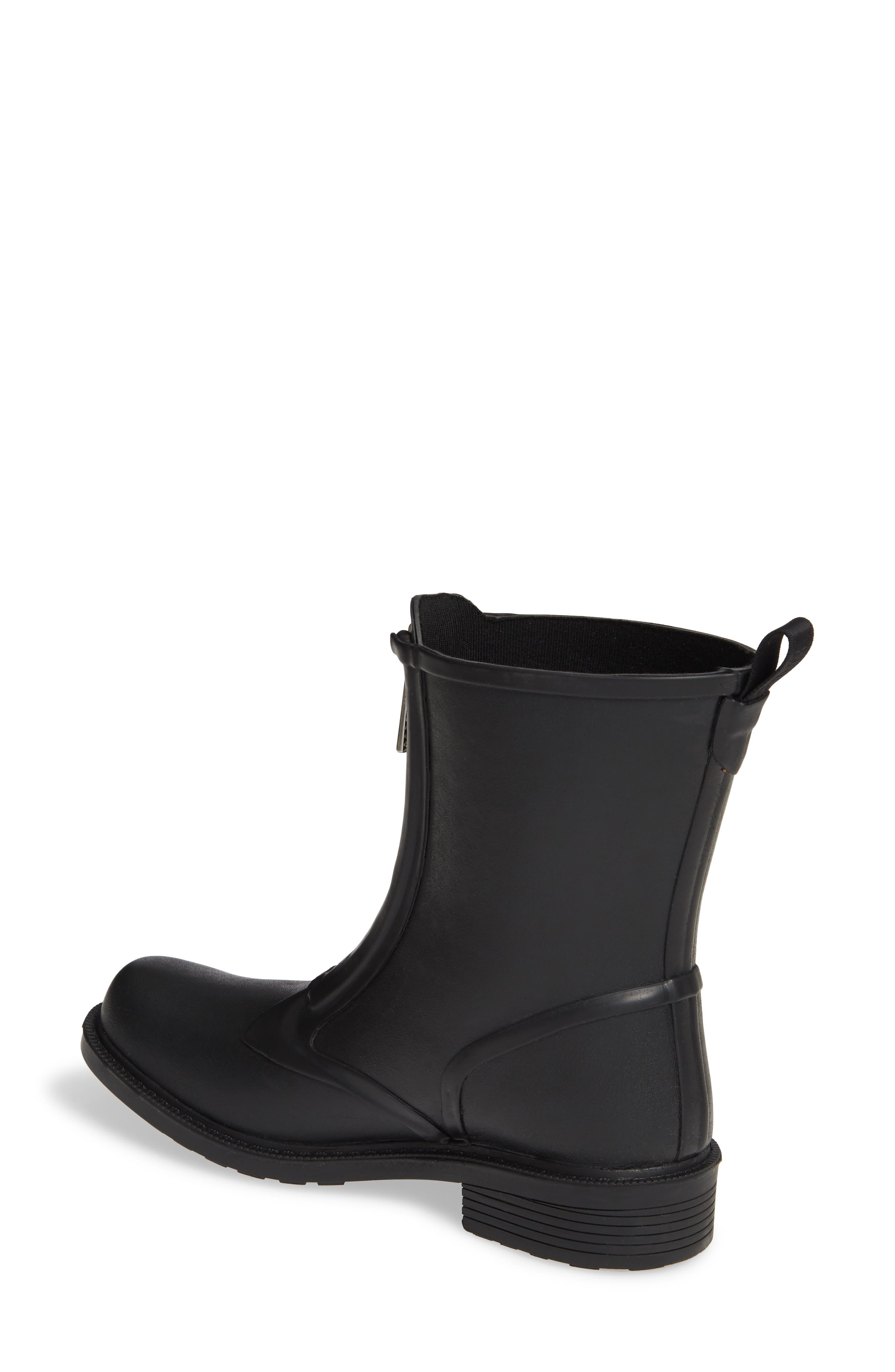,                             Storm Waterproof Rain Boot,                             Alternate thumbnail 2, color,                             BLACK