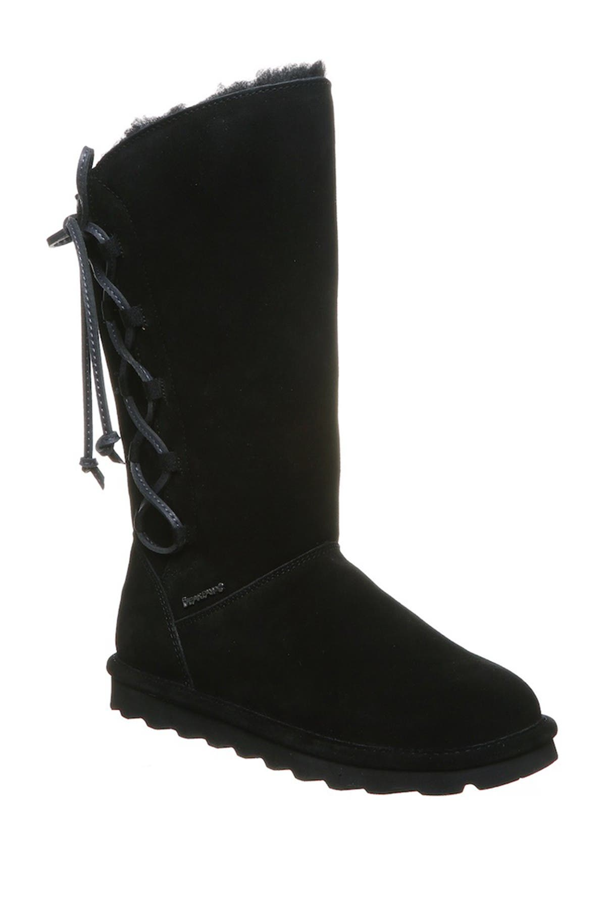 Image of BEARPAW Rita Faux Fur Lace-Up Boot